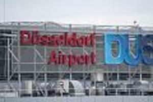 163 menschen an bord - reifen brennt nach landung: flugzeug in düsseldorf evakuiert