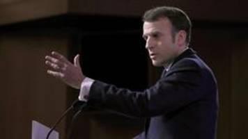 Sicherheitskonferenz: Alle Augen auf Macron