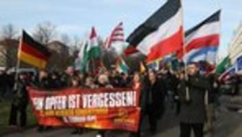 Die NPD und der Opfermythos von Dresden