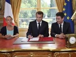 Rücktritt wegen Sex-Videos: Festnahmen nach Eklat um Macron-Vertrauten
