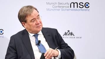 CDU-Vize: Laschet kritisiert Merkels Europapolitik
