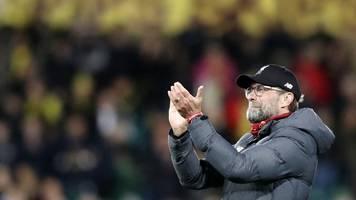 premier league: liverpool-coach klopp nach 17. liga-sieg in serie erstaunt