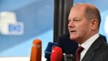 eu-haushalt: olaf scholz kritisiert vorschlag zum eu-budget als unmodern