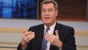 Markus Söder: CDU-Vorsitz ist das eine, Kanzlerkandidatur das andere
