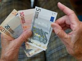 Entwurf geändert: Es sollen doch weniger Grundrente kriegen