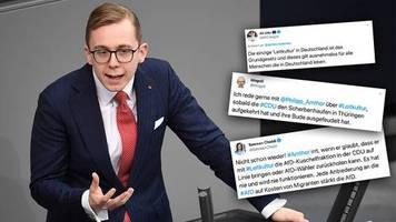 cdu-politiker in der kritik: 12 terror-almans wollten bürgerkrieg – und amthor möchte über leitkultur sprechen
