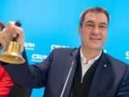 Machtkampf zwischen CSU und CDU