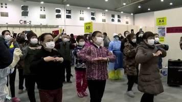 video: staatsfernsehen zeigt bilder aus klinik in wuhan