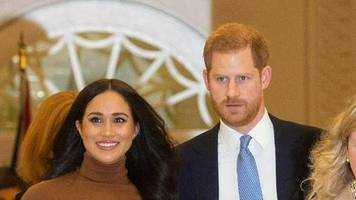Prinz Harry und Herzogin Meghan: Mit dem Linienflug zurück nach Kanada