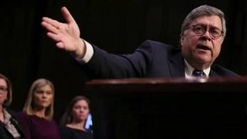 video: us-justizminister william barr unter druck