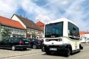 autonomes fahren: busse ohne fahrer sollen in brandenburg eingesetzt werden