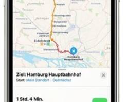 Maps & Öffis: Apple bringt mehr Nahverkehr in die Karten-App