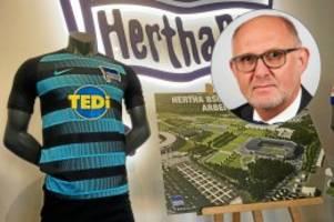 """Neues Stadion für Hertha: Stadion-Manager Teichert: """"Ich bin sehr zuversichtlich"""""""