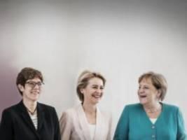 Union: Frauen an der Macht - war's das in der CDU?