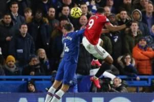 Premier League: Rückschlag für Bayern-Gegner Chelsea - 0:2 gegen Man United