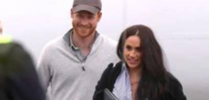 Meghan und Harry: Ihre ersten gemeinsamen Fotos seit dem Megxit