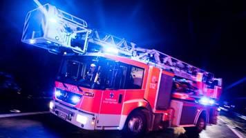 explosion in lichtenberg: drei verletzte