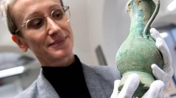 Nordendorf in Bayern: Archäologen finden seltenes Reitergrab bei Augsburg