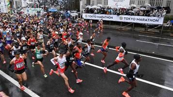 Tokio-Marathon: Coronavirus verhindert Start von 38.000 Amateurläufern