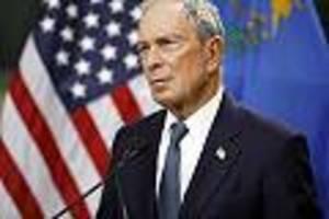 US-Wahl im News-Ticker - Kritik an Milliardär Bloomberg bei Demokraten wächst