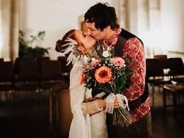 als ehepaar auf tour: mrs. greenbird heiratet mr. greenbird