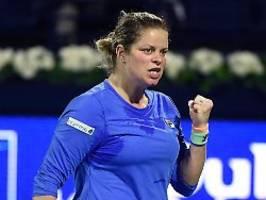 inspiriert vom tennis-comeback: clijsters verliert - und ist die große siegerin