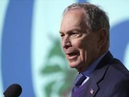 Sinneswandel im Wahlkampf: Bloomberg will Banken strenger regulieren