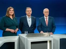 tv-duell vor hamburg-wahl: beim thema cum-ex endet die harmonie