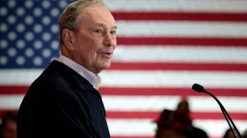 Bloomberg nimmt am Mittwoch erstmals an TV-Debatte der US-Demokraten teil
