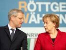 Auch Röttgen hat eine Rechnung mit Merkel offen