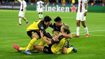 Champions League: Doppelpack Haaland: BVB besiegt PSG