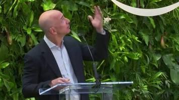 Video: Amazon-Chef Jeff Bezos gründet milliardenschweren Umweltfonds