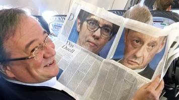 CDU-Krise: Nach Röttgen-Kandidatur: Laschet pocht weiter auf Teamlösung
