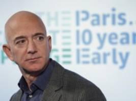 Kampf gegen den Klimawandel: Jeff Bezos will zehn Milliarden Dollar spenden