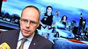 Beuth gibt Regierungserklärung zu Kriminalstatistik ab