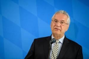 Bayerns Innenminister Herrmann entsetzt über Pläne rechter Terrorzelle