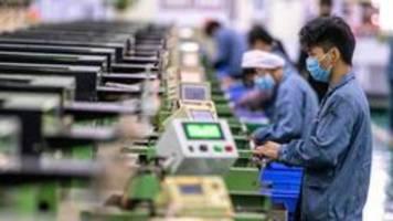 china hält trotz coronavirus an wachstumszielen fest