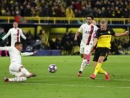 2:1 gegen Paris: Dortmund gewinnt dank Haaland-Hammer