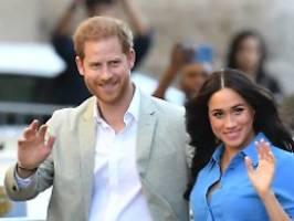 sussex royal ist unangebracht: harry und meghan dürfen marke nicht nutzen