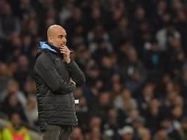 Vorwürfe einfach nicht wahr: Guardiola zieht mit ManCity in den Kampf