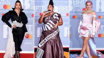 stylewatch: karneval auf britisch: die outfits der brit awards