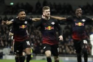 Champions League: Timo Werner krönt Leipzigs Achtelfinal-Premiere
