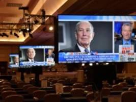 Demokratische Vorwahlen in den USA: Bloomberg rückt vor