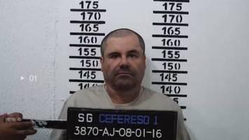 Video: Seltene Bilder von El Chapo im Knast