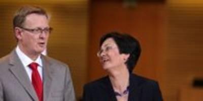 ministerpräsidentenwahl in thüringen: ein unwürdiges gewürge