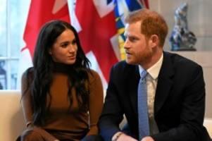 """markenname: harry und meghan dürfen sich wohl nicht mehr """"royal"""" nennen"""