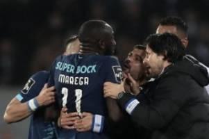 Europa League: Rassismus-Opfer Marega mit Wut gegen Leverkusen