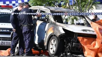 Brisbane: Auto brennt aus – Eltern und drei Kinder sterben