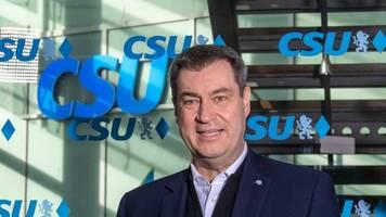 Söder sieht CDU-Absage an Übergangsregierung skeptisch