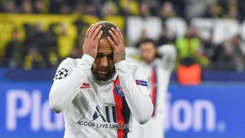 Champions League - Nach Pleite bei BVB: Neymar kritisiert PSG-Verantwortliche